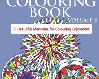 Adult Colouring Book Volume 6