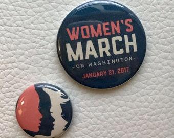 Women's March memorabilia pin set