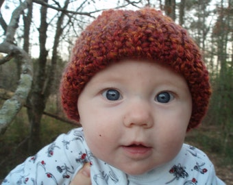 Fire on the Mountain Infant Knit Hat