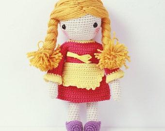Crochet Doll - Little Baker