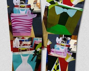 Alice in Wonderland Bags