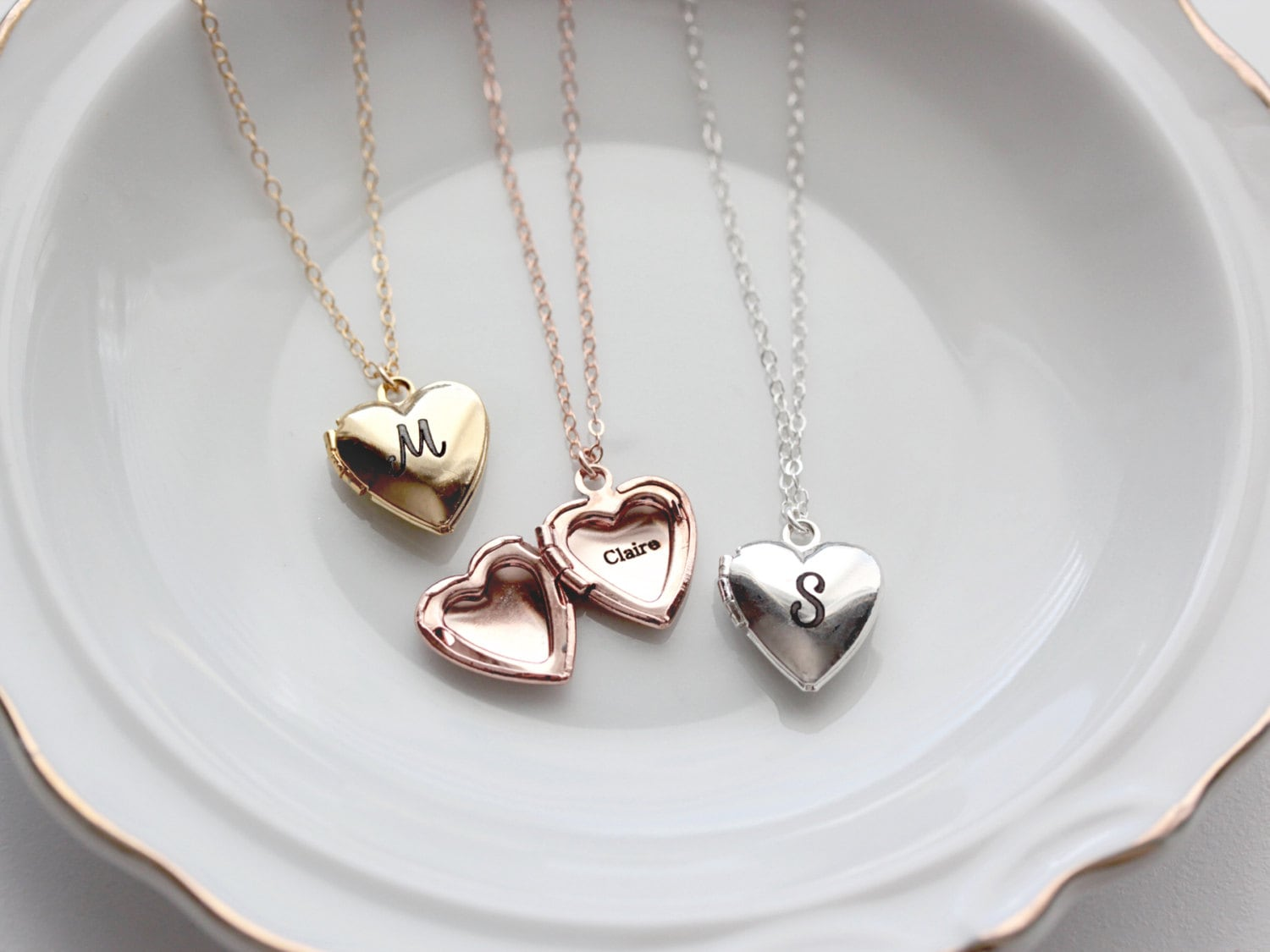 promise chains split lovers sterling products pendant you couple love silver free necklaces necklace shipping original with engraved heart pair