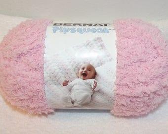Bernat Pipsquak Yarn, Tickle Me Pink Bernat Yarn, Pink Bernat Yarn, Pink Baby Yarn, Soft Pink Baby Yarn, Bernat Yarn, Bernat Pipsqueak