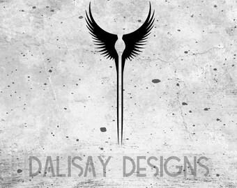 Valkyrie Wings Vinyl Decal