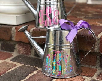 Personalized Watering Can, Watering Can, Monogrammed Watering Can, Mother's Day Gift