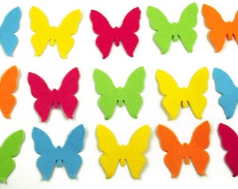 Paper  Butterfly Confetti  South Beach Mix Quantity 300 pieces