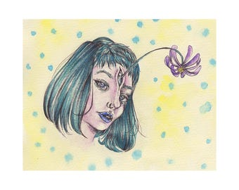 Flower Head 1 (Print)