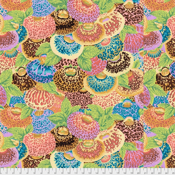 LADIES PURSE Ochre Philip Jacobs PWPJ094.OCHRE Kaffe Fassett Collective Sold in 1/2 yd increments Pre-Order Item