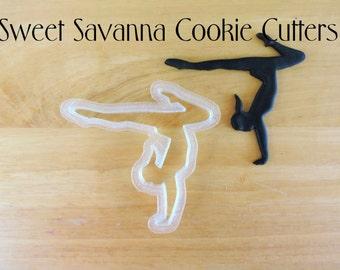 Gymnast Fondant Cutter- N7- Gymnastics Fondant Cutter