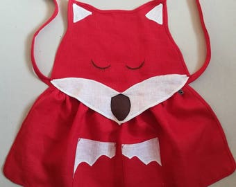 Linen Fox Apron