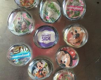 Disneyland Map Magnets