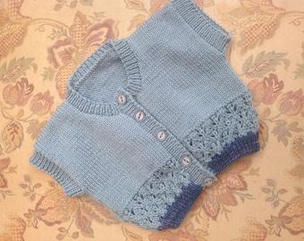 Baby boy's waistcoat