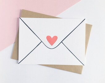 Love Letter – Letterpress Valentine Card