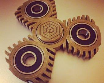 Fidget spinner toy - hand spinner CUSTOM colours and bearings / ceramic / stress toy / fidget toy / 3D printed spinner / tri spinner FIN