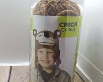 Caron Critters bear hat kit
