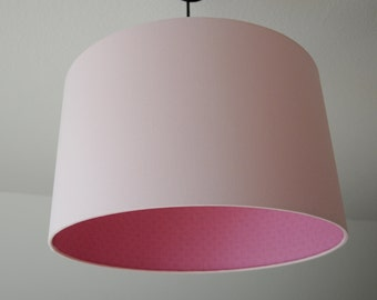 """Lampshade """"Rosé mustered"""""""