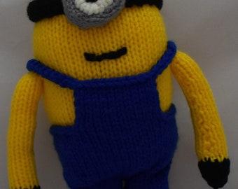 Minion Knit Toy