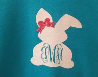 Easter Bunny with Bow