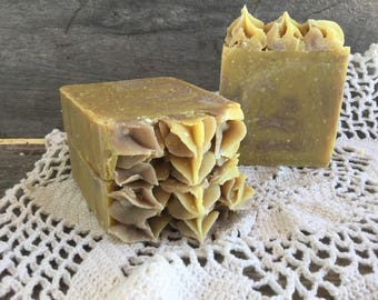 Lavender-Lemongrass Simply Natural Goat Milk Soap
