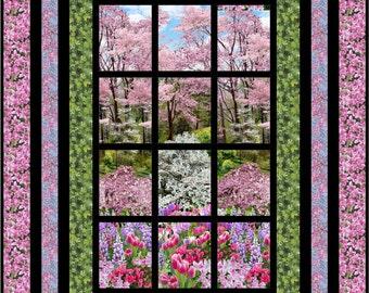 Quilt Pattern - Bella Vista -  Easy Quilt Pattern - PDF INSTANT DOWNLOAD