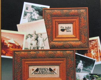 Fly Away Home/Counted Cross Stitch Patterns by Twisted Threads/2002/Birds/Sampler/Wallhanging