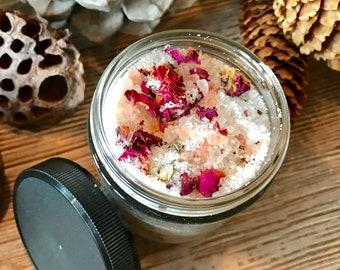 Organic ROSE BATH SALTS