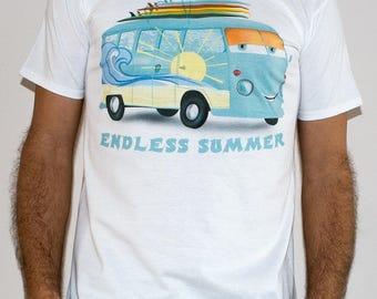 Endless summer / SRF 9 - Surfing Man T-shirt