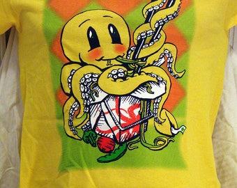 Noodle Puss T-shirt Unisex/Mens