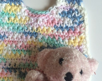 Bib for Baby crochet Multicolor Baby Bib handmade
