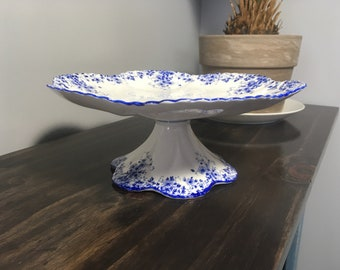 SHELLEY DAINTY BLUE Cake Stand