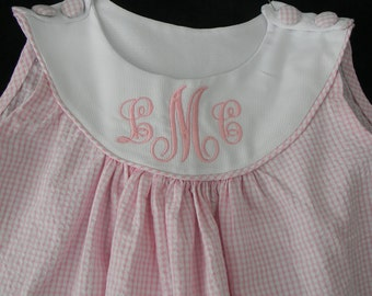 Easter Girl Dress Monogrammed