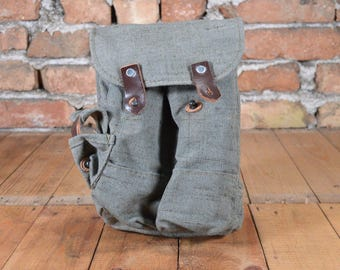 Ammo bag - Military bag - Ammo pouch - AK Magazine pouch - Field bag - Waist bag - Canvas military bag - Canvas belt bag - Magazine pouch