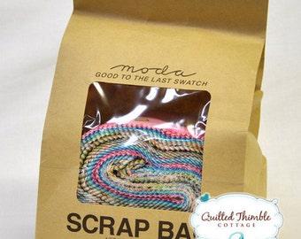 Moda Scrap Bag - Random Strips of fabric