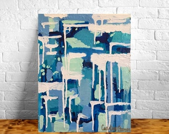 11x14 Abstract Painting on Canvas