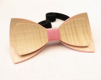 Beautiful Wood Bow Tie 0050