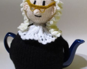 Court Room Judge Tea Cosy Knitting Pattern