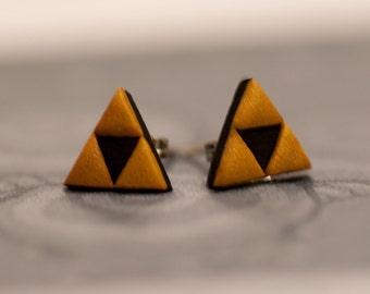 Zelda Triforce Earrings