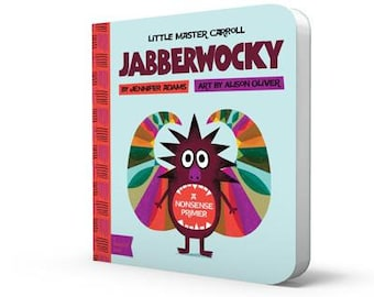 Jabberwocky Book - Baby Board Book - Baby Lit Book - Childrens Books - Childrens Gifts