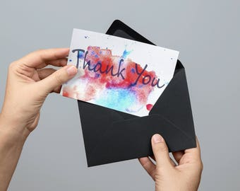 Printable thank you card, thank you card