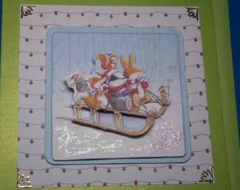 3D 958 hand made greeting card