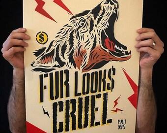 Fur looks cruel