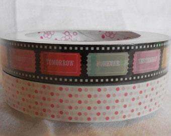 Kawaii Tickets Deco Tape Set of 2