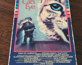 Cat's Eye By Stephen King VHS Horror