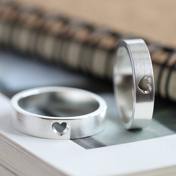 Dhl Customer Service Phone Number >> Matching Promise Rings Personalized Couple Rings Promise