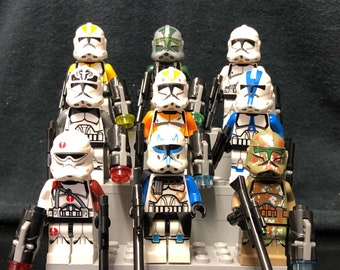 Clone trooper Set | #A | Star Wars Custom Minifigures