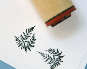 Delicate Fern Rubber Stamp