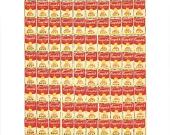 ANDY WARHOL - '100 cans' - original limited edition screenprint - c1991 - rare (Gallery A.P. J. Graphic Station. Serigraph, Pop art) ex