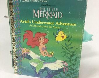 Little Golden Book, Art Journal, Junk Journal, Smash Book, Scrap Journal, Altered Book, Gratitude Journal