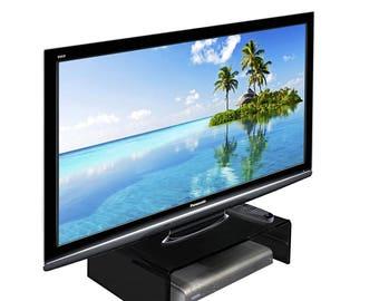 Acrylic Tv / Monitor Riser | Monitor Stand | Tv Unit | Monitor Bridge - Various Colours