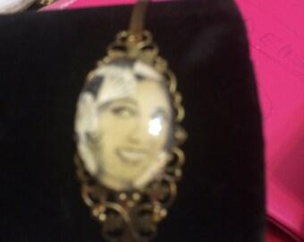 Josephine Baker Vintage Filigree Metal Headband